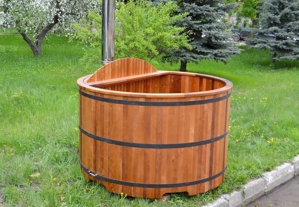 японская баня офуро с подогревом воды фото, фотография, картинка, изображение, посмотреть.