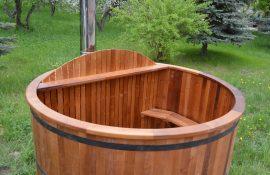 Купель «Офуро» тёплая с подогревом воды
