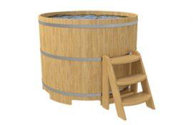 Круглые купели из дерева для дома, дачи, бани и сауны от производителя