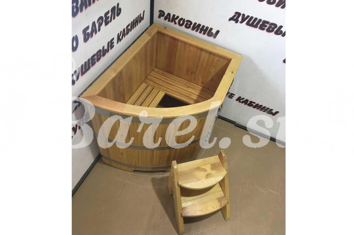 угловая деревянная купель фото, фотография, картинка, изображение, посмотреть.