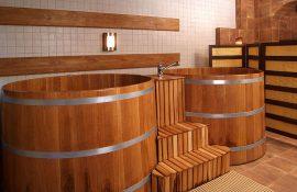 Японские бани и спа-купели «Офуро» для дома, дачи, бани и сауны