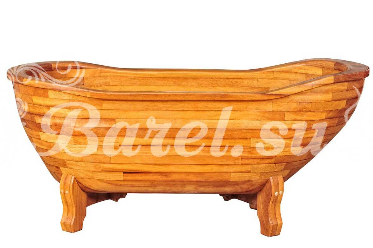деревянная ванна из тика для дома и дачи фото, фотография, картинка, изображение, посмотреть.
