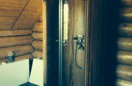 Душевые кабины из термодерева для дома, дачи, бани и сауны