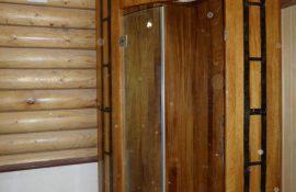 Душевые кабины из дуба для дома, дачи, бани и сауны