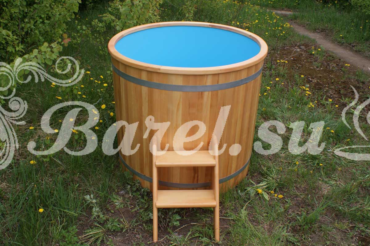 круглая купель от производителя Барель фото, фотография, картинка, изображение, посмотреть.