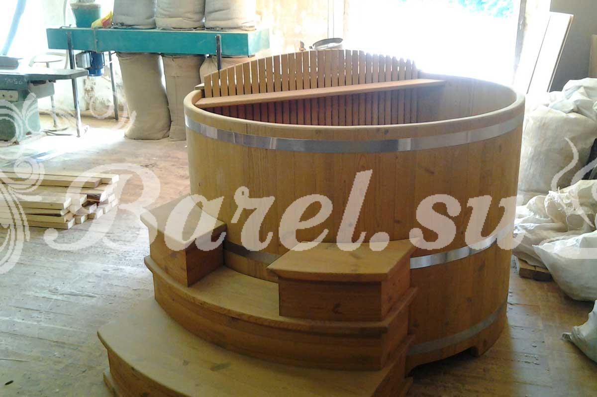 производство деревянных купелей фото, фотография, картинка, изображение, посмотреть.