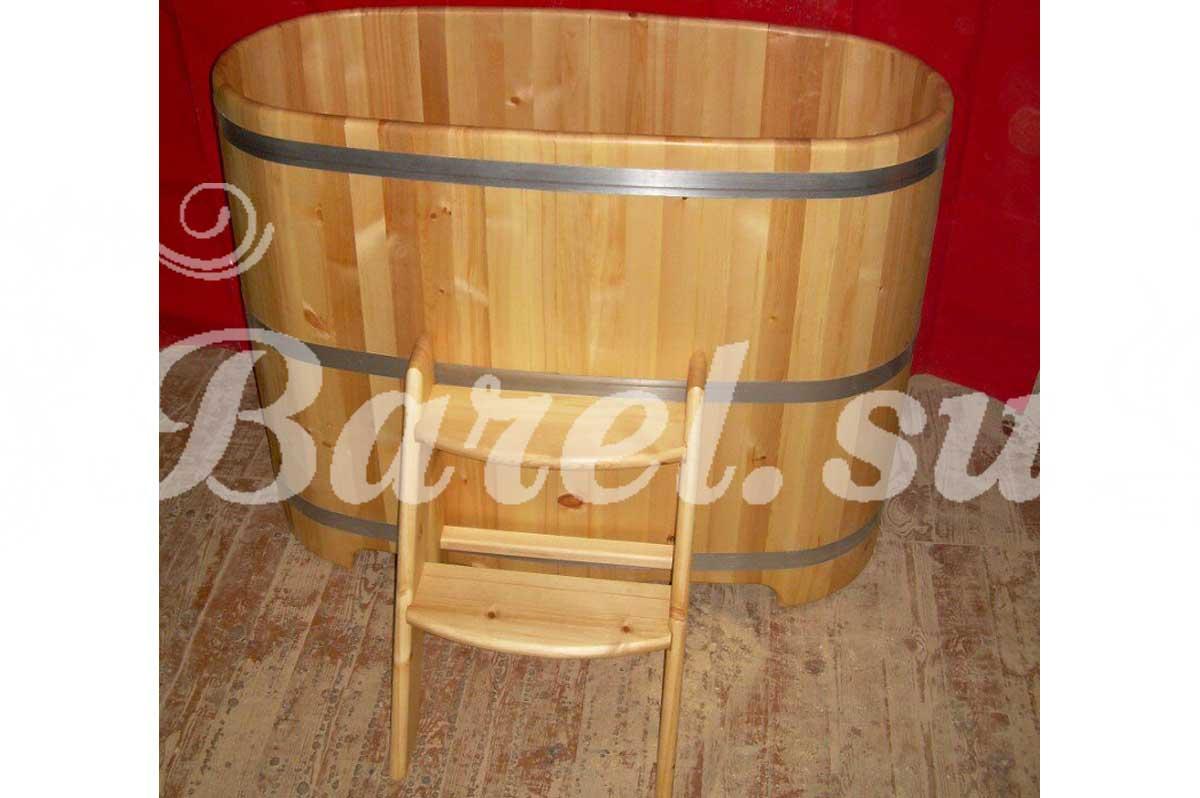 овальная купель из дерева для бани фото, фотография, картинка, изображение, посмотреть.
